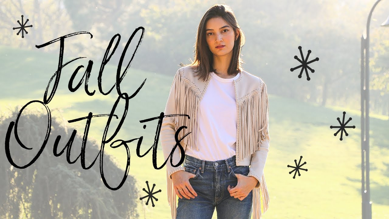 [VIDEO] - FALL OUTFIT IDEAS & LOOKBOOK 2017! 2