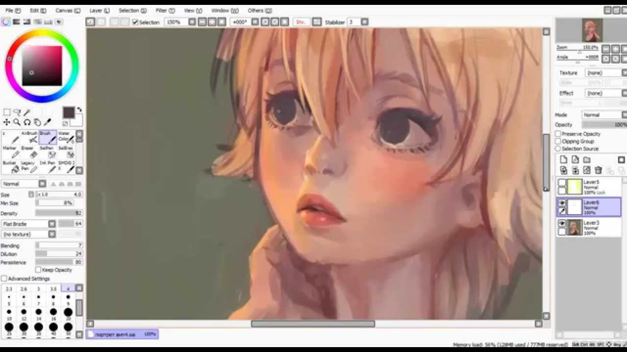 How To Download Paint Tool Sai For Free Youtube