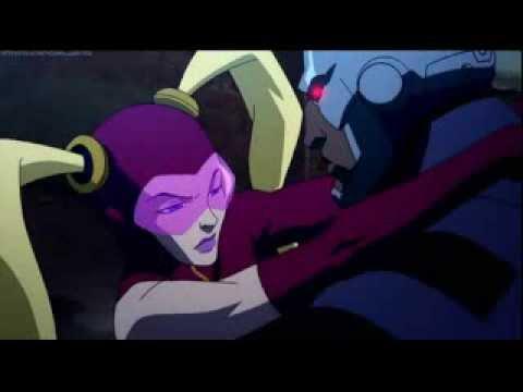 Yo-yo vs Batman (Justice League: The Flashpoint Paradox)eng