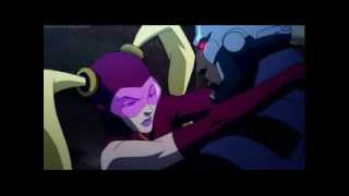Yo-yo vs Batman (Justice League: The Flashpoint Paradox)eng