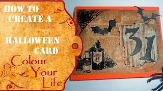 How to make a Pull Shaker card for Halloween