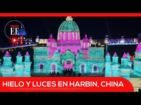 Así es el festival de hielo y luces en Harbin, China | El Espectador