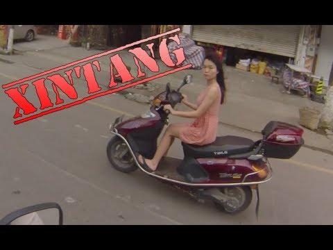 Motorcycle Ride: Xintang City Guangzhou China on Suzuki Inazuma gw250 gsr250