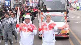 (KOR) IN 평창 - 2018 평창 동계패럴림픽 성화봉송 8일차 하이라이트
