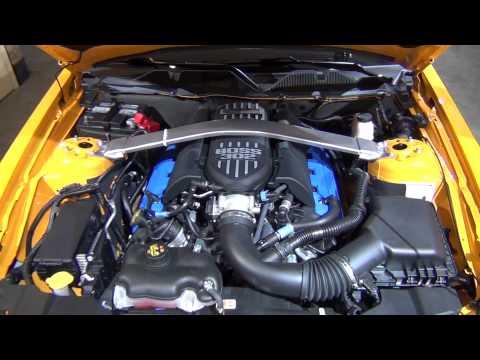 www.MOTRface.com 2013 Ford Mustang Boss 302 Laguna Seca Engine - video 2 of 2