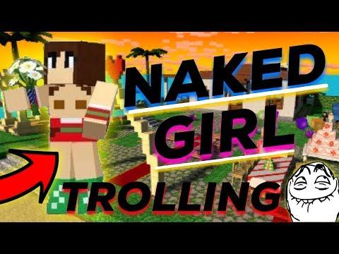 Naked Girl Dating In Sandbox Prank | Pixel Gun 3D