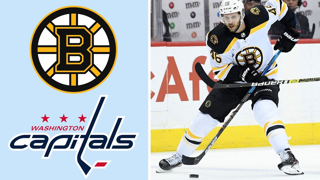 Boston Bruins vs. Washington Capitals  84f3b32ae81a