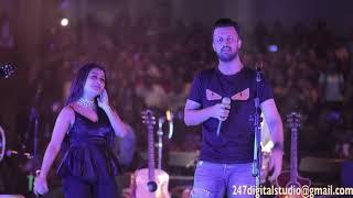 ATIF ASLAM - NEHA KAKKAR LIVE IN HOUSTON (2018) Dil Diyan Gallan