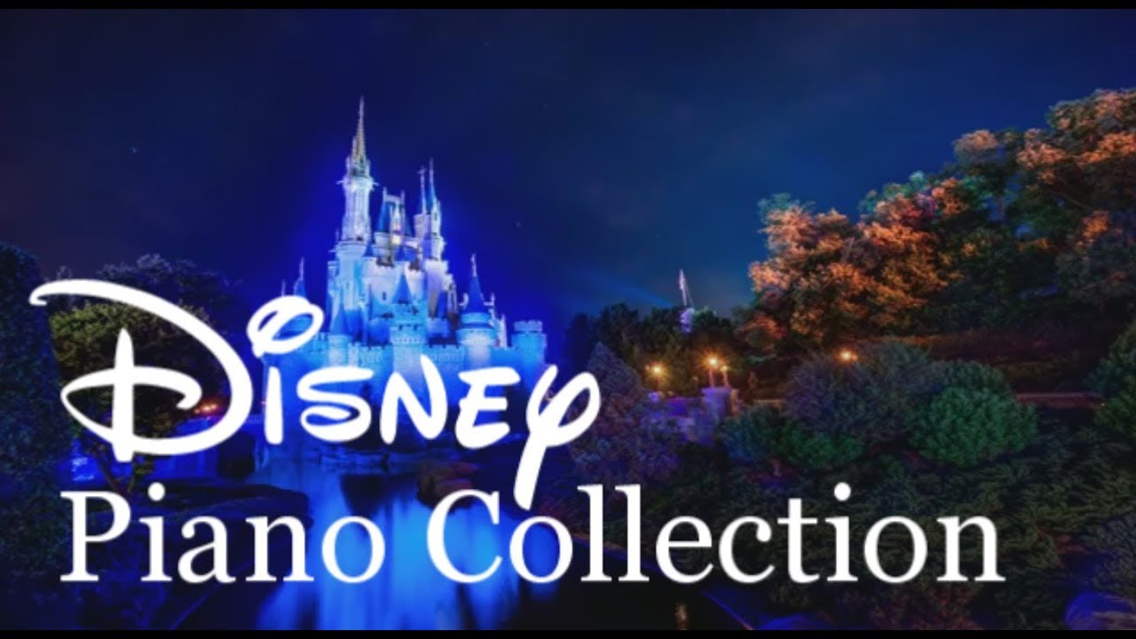 Relaxing Piano Disney Piano Collection 3 Hour Long Piano Covered By Kno Youtube