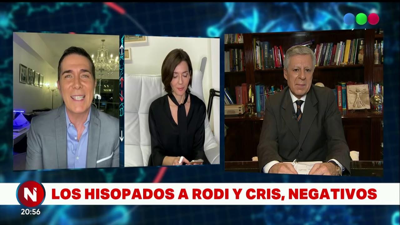 Los hisopados por COVID-19 a Cristina Pérez y Rodolfo Barili dieron negativos - Telefe Noticias