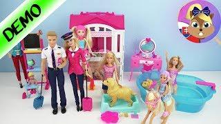 Barbie hračky | Zbierka Barbie bábik a súprav | Barbie bábiky | Barbie a Ken | Barbie so psíkom