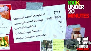 HOW TO MAKE MONEY FAST MC CONTRACTS DOUBLE MONEY GTA 5 ONLINE