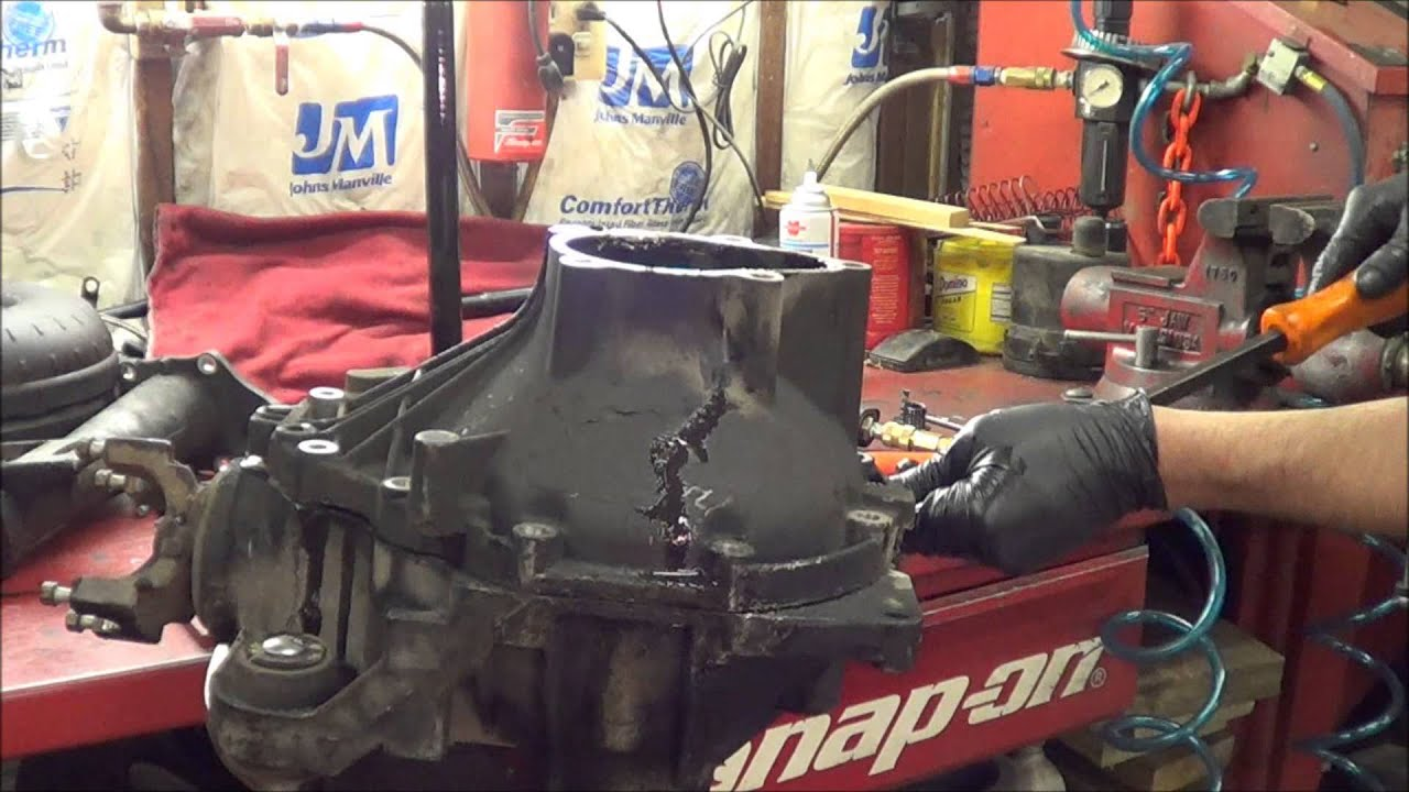 gm 8 25 ifs front diff rebuild part 1