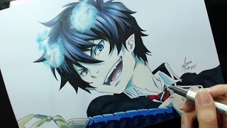 Speed Drawing - Okumura Rin (Ao no Exorcist)