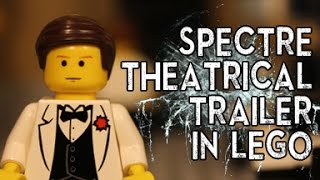 SPECTRE THEATRICAL TRAILER RECREATED IN LEGO