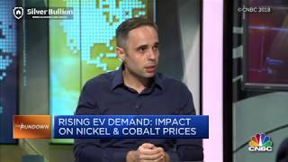 Gregor Gregersen on CNBC - Rising Electric Vehicle Demand Impacting Battery Metals (Nickel & Cobalt)