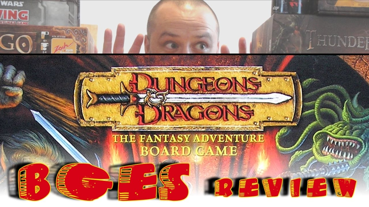 Dungeons Dragons The Board Game How To Playreview Youtube