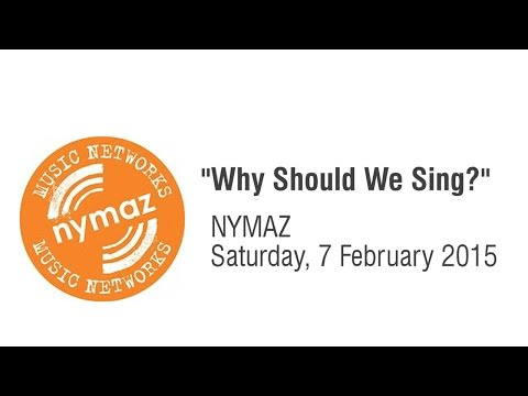 NYMAZ Early Years Music Network Conference 2015 - Keynote Presentation