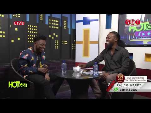 Mayorkun First Interview In Ghana on Hot Gist with Nealyon (Spyderlee Entertainment TV)