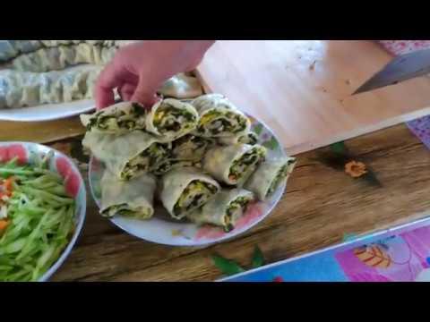 老妈这盘蔬菜卷,没肉全素适合吃腻了肉的朋友,胃口大增