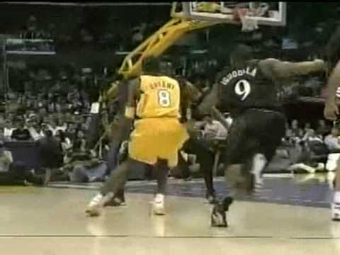 Allen Iverson 31pts vs Kobe Bryant 48pts Lakers 05/06 NBA