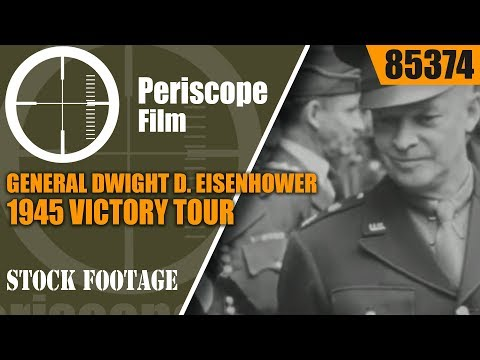 GENERAL DWIGHT D. EISENHOWER 1945 VICTORY TOUR AND HOMECOMING TO ABILENE   85374