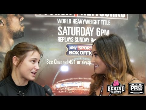 KATIE TAYLOR ON SEXISM IN BOXING &  CHOOSING MATCHROOM TO PROMOTE HER CAREER
