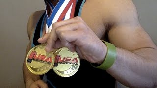 Qwin Vitale 83KG - First USA Powerlifting Meet Results