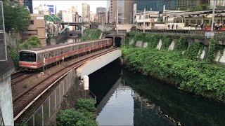【まるのうちせん】東京メトロ丸ノ内線 02系@御茶ノ水〜淡路町