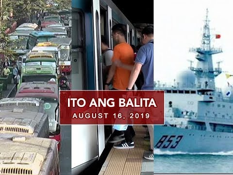 UNTV: Ito Ang Balita (August 16, 2019)