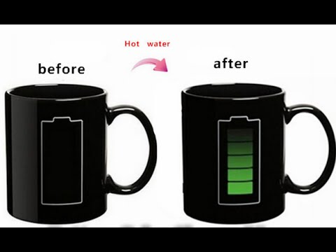 how to make a temperature mug magic mug youtube