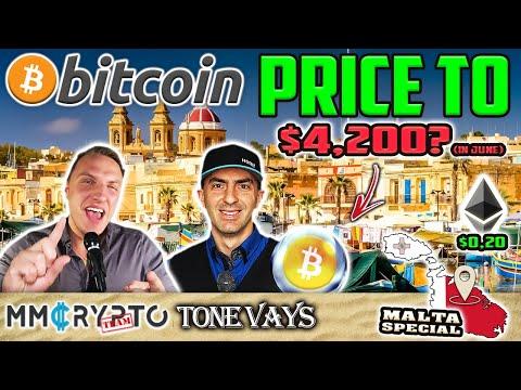 Bitcoin to $4.200 in June | ETH still $0.20 - Tone Vays