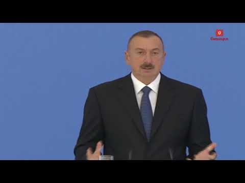 Ilham Əliyev müxalifəti aşağılayır