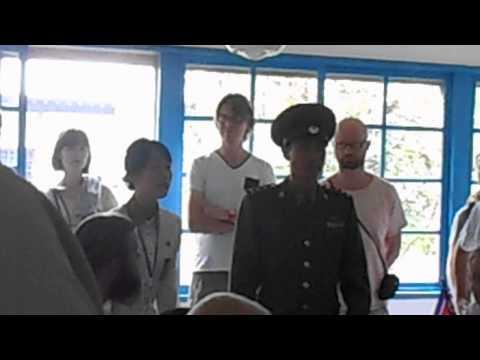 DMZ Tour   Panmunjom   Meeting Room   North Korea   September 2013