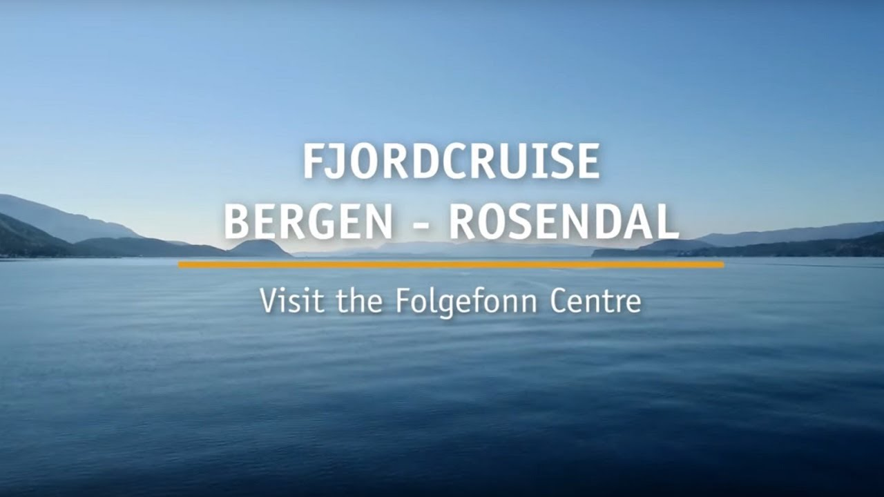 Thumbnail: Fjordcruise Bergen - Rosendal and Folgefonn Center
