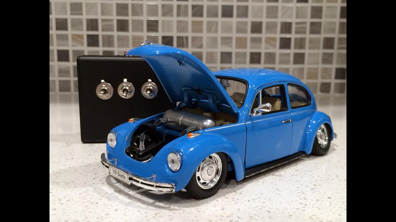 Real Air Bagged Welly 1 24 Vw Volkswagen Beetle Diecast