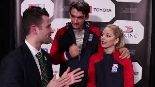 Rinkside Reactions from 2018 Skate America Pairs Short Program