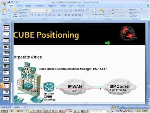 CCBOOTCAMP Webinar - CUBE ( Cisco Unified Border Element )