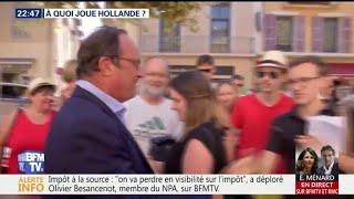 Nouvelle vie de François Hollande: à quoi joue l'ancien président?
