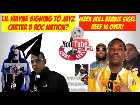 Lil Wayne SIgned To Jay Z (Roc Nation?) I'm A Rocafella Millionaire.