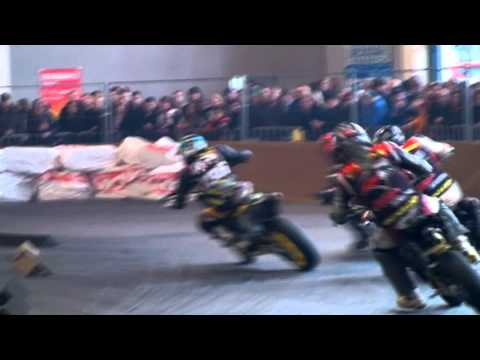 Supermoto Rider Benedikt Waag #36