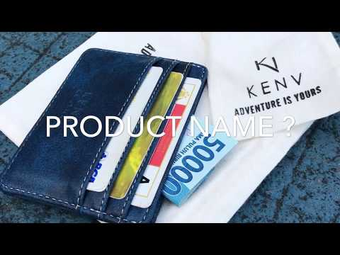 KENV Chronos II Card Holder ( Unboxing & Review )