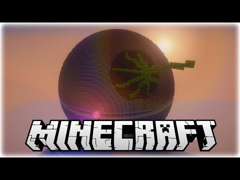 Amazing Minecraft Deathstar Replica Adventure Map! (1.7.10)