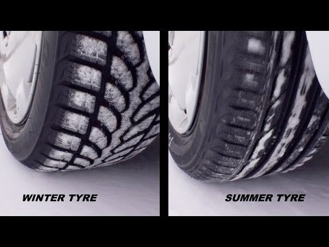 Summer Tires Vs All Season >> Test Drive Winter Tire Vs Summer Tire Youtube