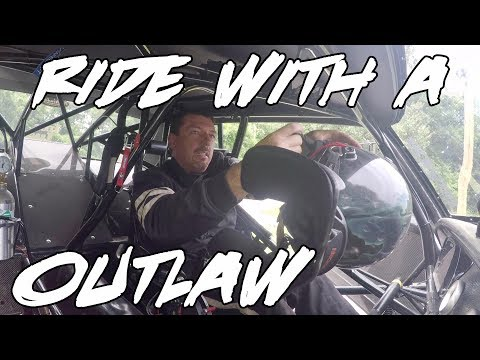 TAKE A RIDE WITH STREET OUTLAWS DADDY DAVE!! RIDING WITH A OUTLAW!