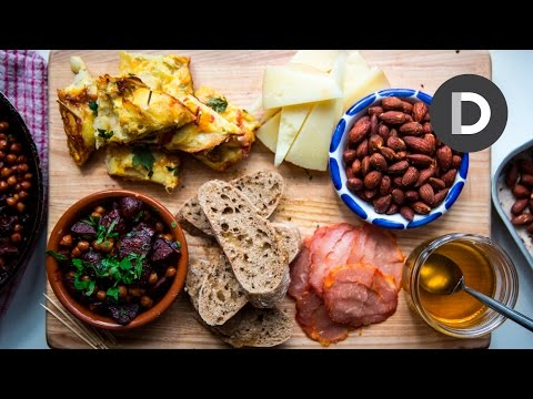 Spanish Tapas Platter Recipe!