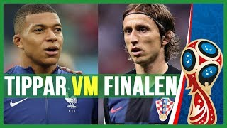 Fotbollssnack Tippar VM Finalen