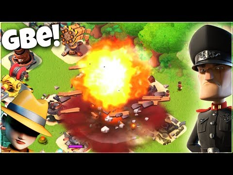 Can ONLY GBE take out Imitation Game? Boom Beach Hammerman Gameplay!
