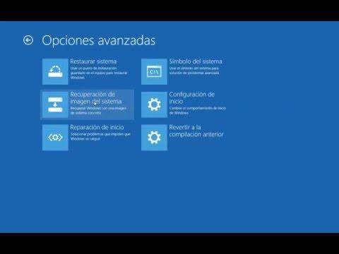 "Como Reparar Windows 10 usando ""Reparacion Automatica"""