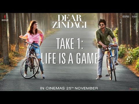 Dear Zindagi Take 1: Life Is A Game | Teaser | Alia Bhatt, Shah Rukh Khan | A film by Gauri Shinde